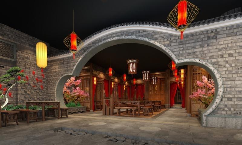 小龙坎老火锅-三环装饰